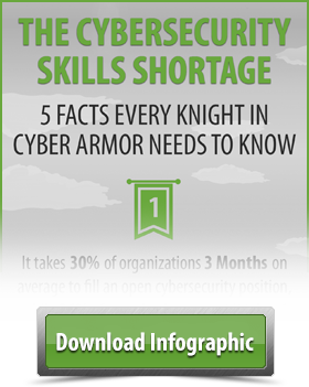Cybersecurity Skills Shortage Infographic